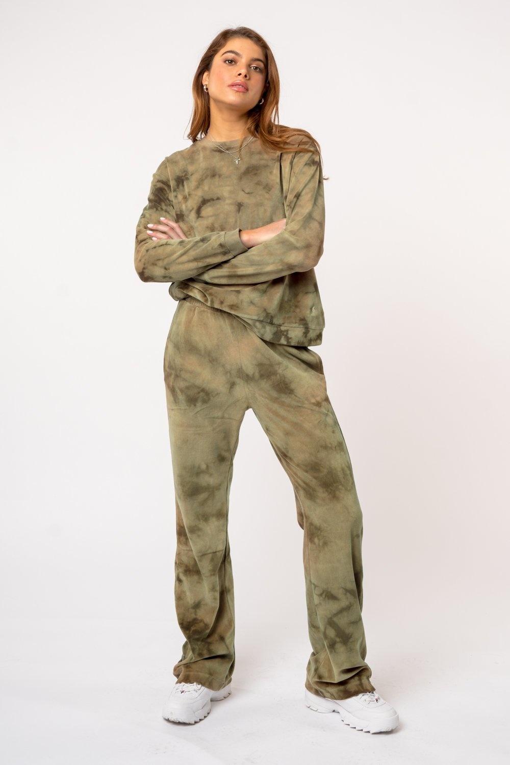 Kuwalla Tee Pantalon Velours Snap