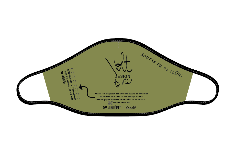 Volt Design Masque no.431-K | Espoir