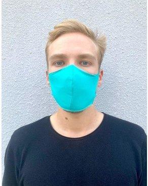 Boss Masks Masque en tissus Boss - Paquet de 5 - TURQUOISE