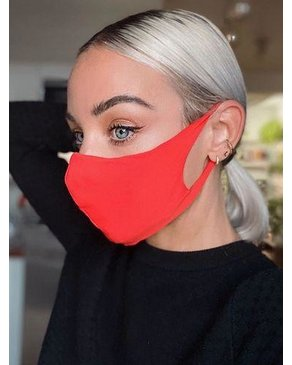 Boss Masks Fabric Face Masks - 5 Pack - SALMON