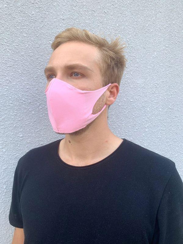 Boss Masks Masque en tissus Boss - Paquet de 5 - ROSE
