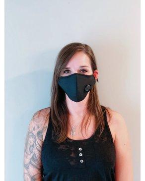 Boss Masks Masque noir avec filtre  x 5