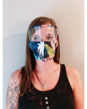 Boss Masks Masques pour adultes avec Visière  X 5 (Hawaïen)