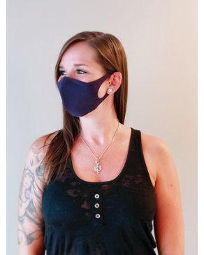 Boss Masks Fabric Face Masks - 5 Pack - PURPLE