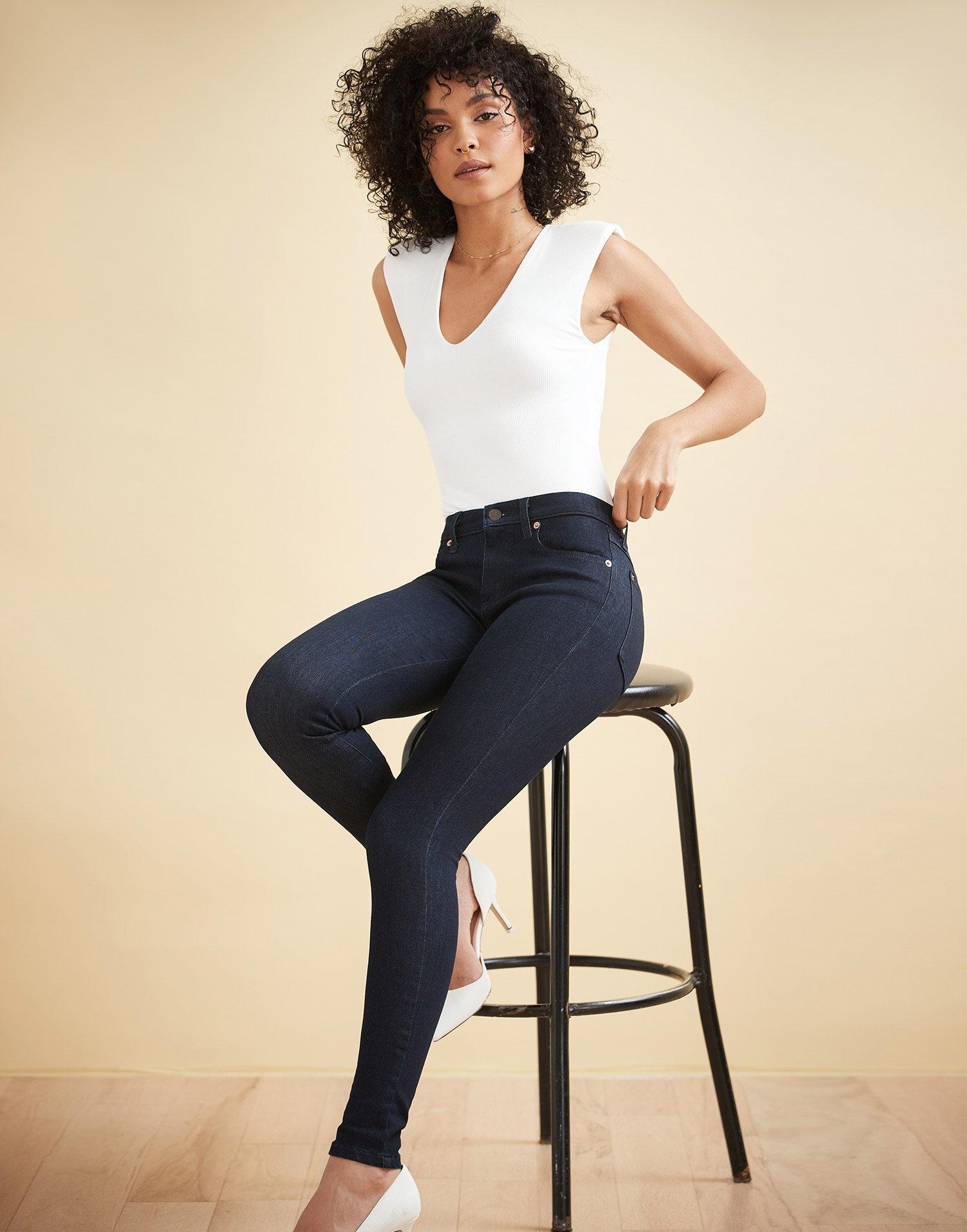 Yoga Jeans Mid Rise Rachel Skinny Prague 30