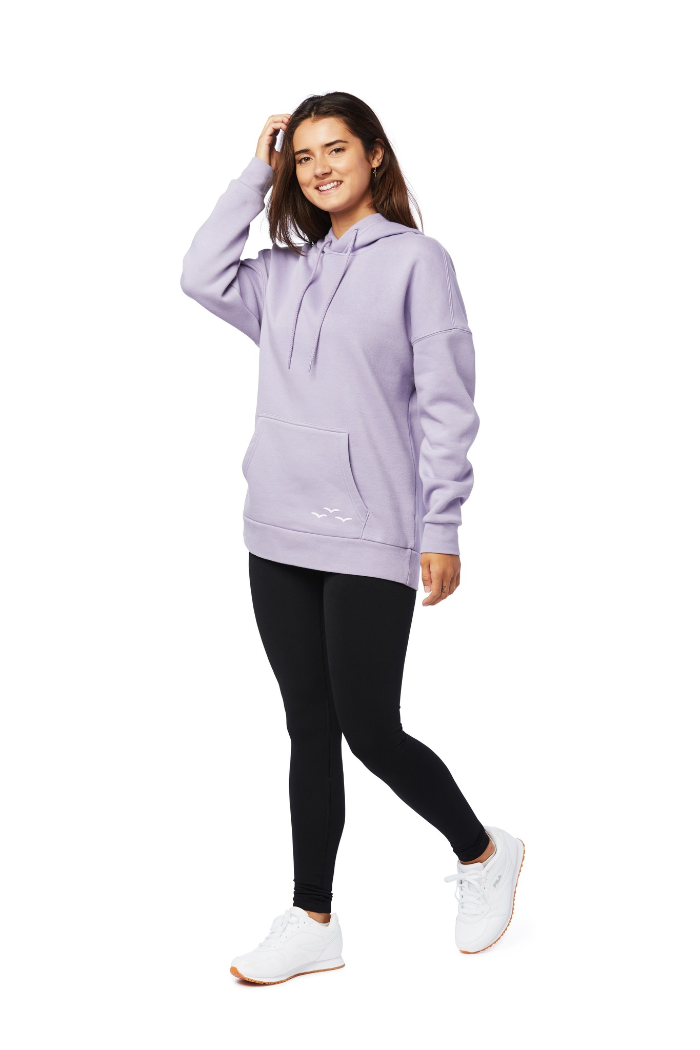 LAZYPANTS The Cooper hoodie in lavender