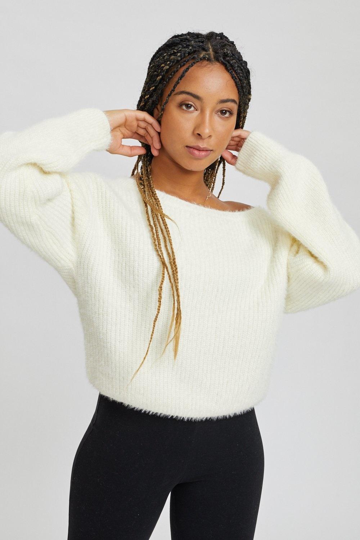 Kuwalla Tee Off Shoulder Knit