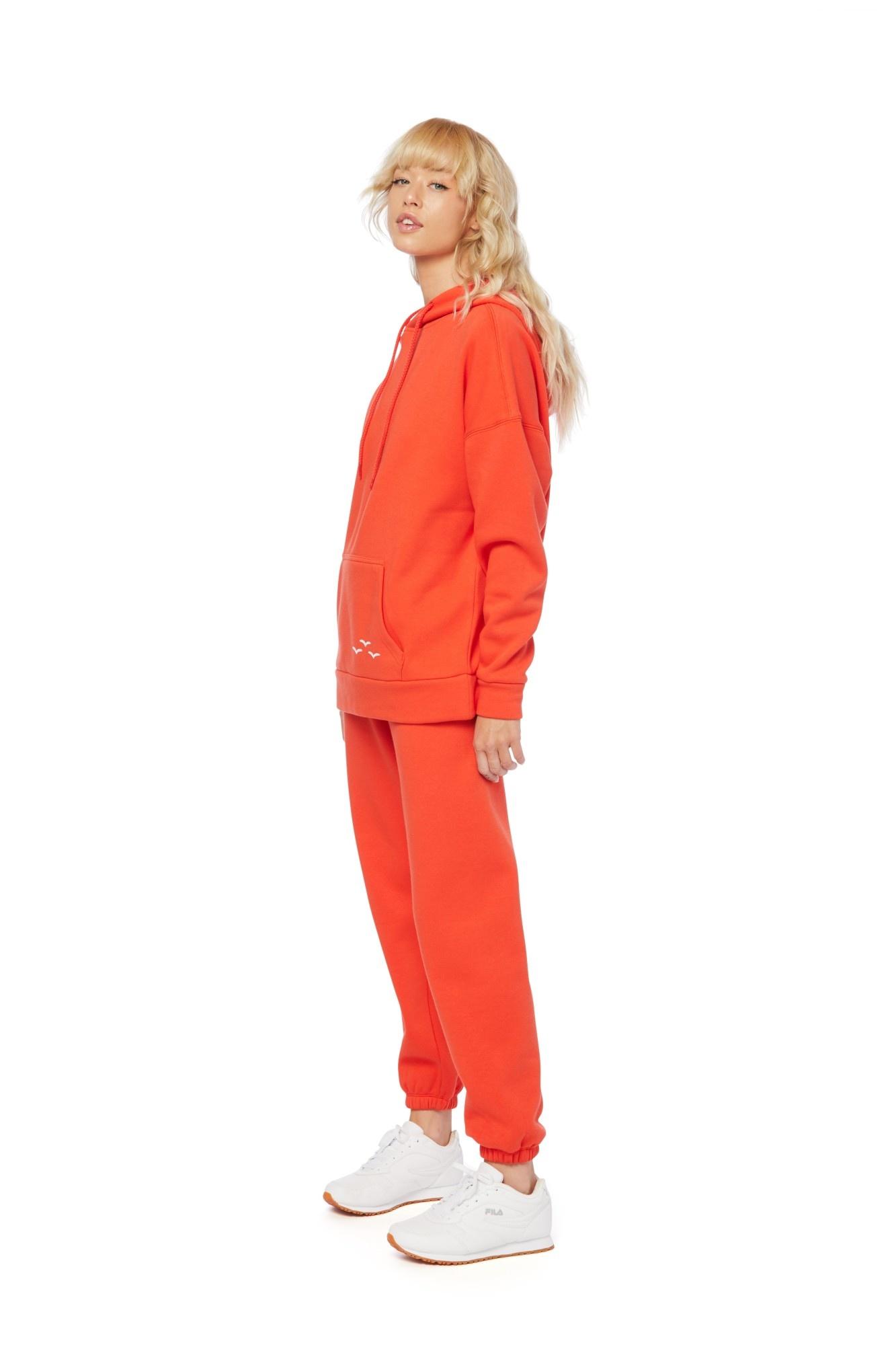 LAZYPANTS Ensemble  Niki & Cooper Orange ultra doux