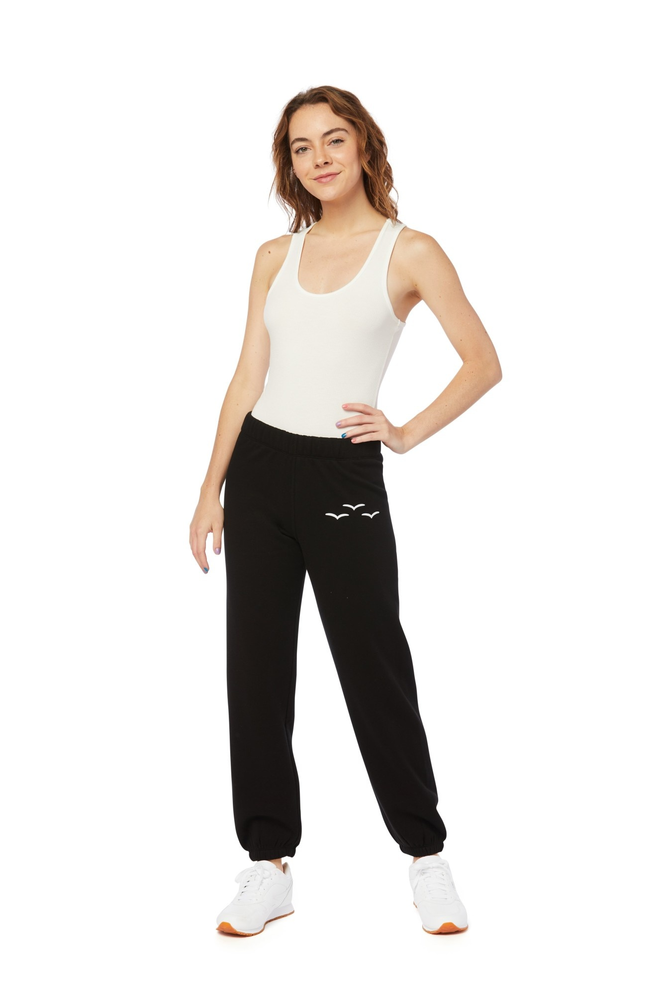 LAZYPANTS Niki Ultra Soft Sweatpants in Black
