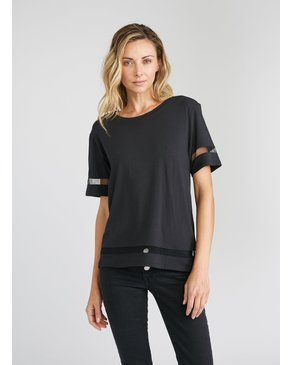CHRLDR Wide T-Shirt TULLE