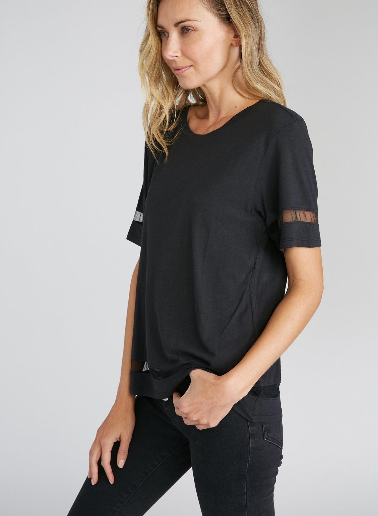 CHRLDR  Wide T-Shirt TULLE