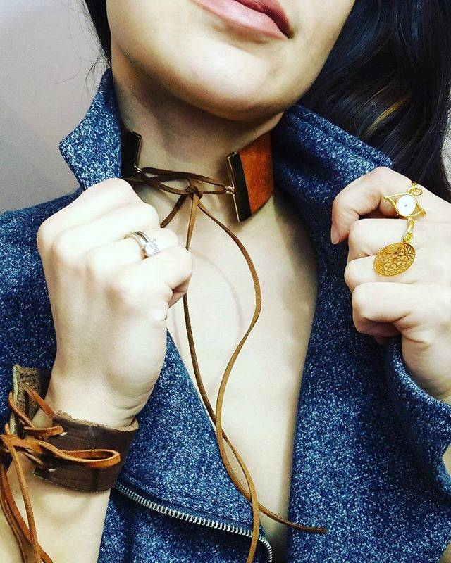 Atelier SYP LUX - Choker (Brown)
