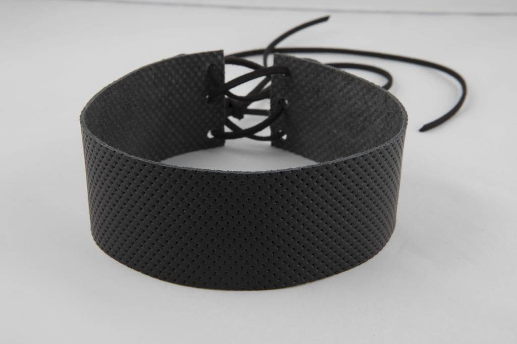 Atelier SYP LUX ITALIAN PERFORATED - Choker (Black)