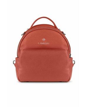 Lambert CHARLIE - Mini sac à dos en cuir vegan sunset
