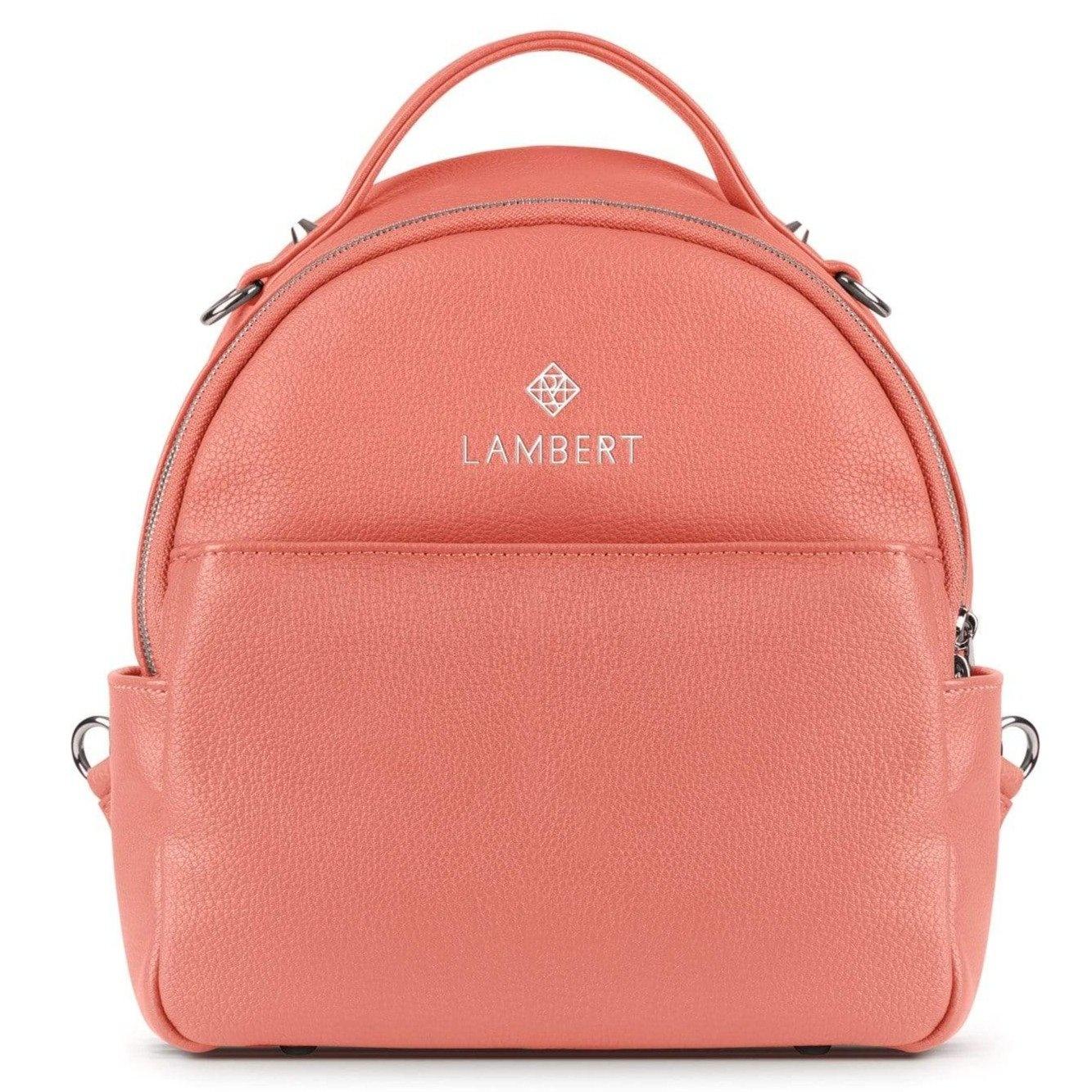 Lambert CHARLIE - Mini sac à dos en cuir vegan blossom