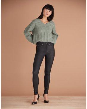Yoga Jeans Classic Rise Rachel Skinny Black