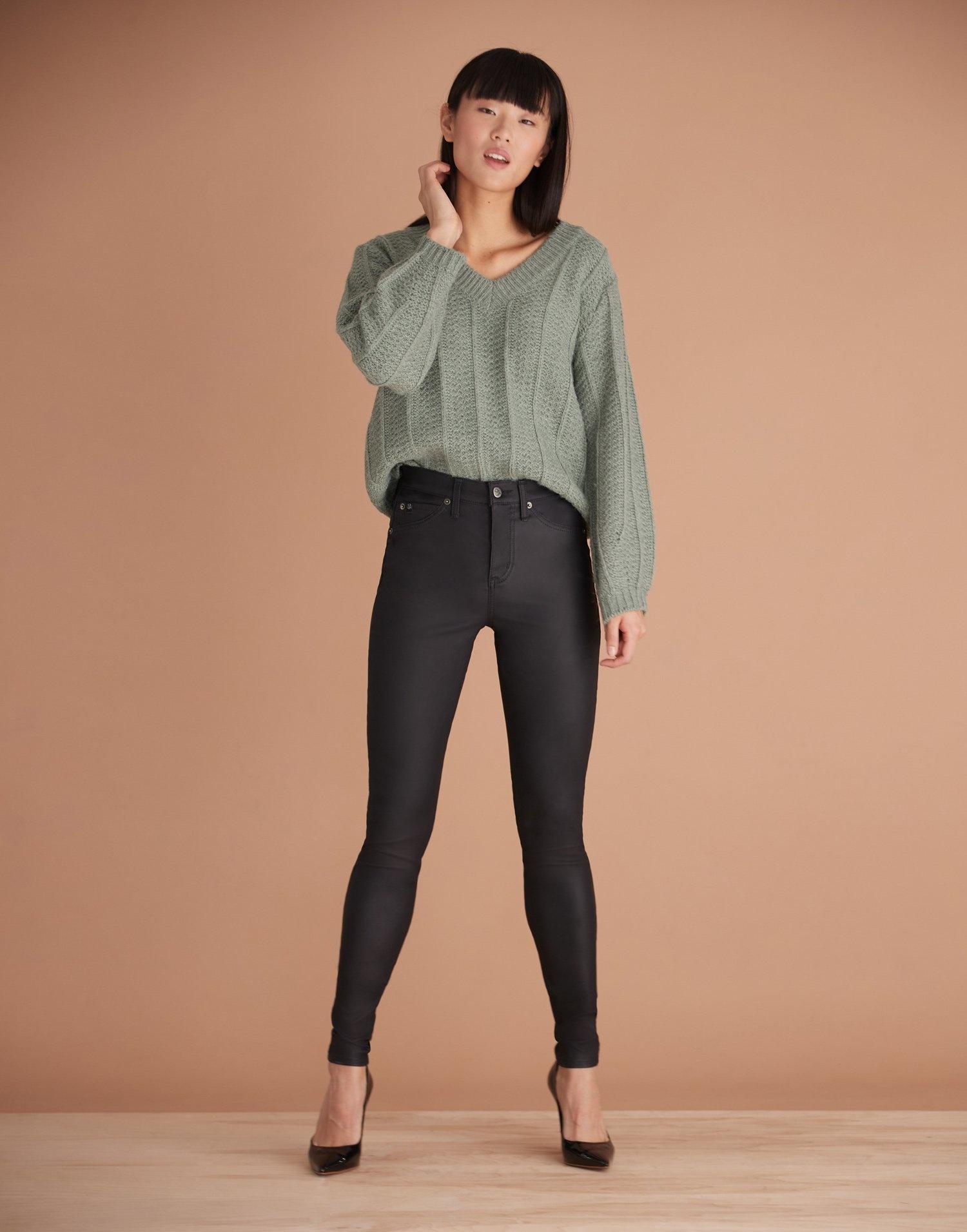 Yoga Jeans Rachel Skinny noir ( Coupe Classique)