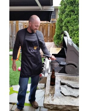 BBQ KING - Apron (Black)