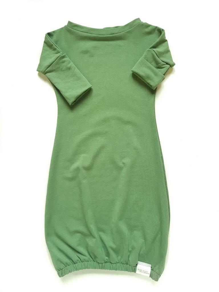 Kid's Stuff Newborn Gown | Green