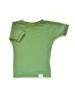 Kid's Stuff Grow With Me T-shirt   Green
