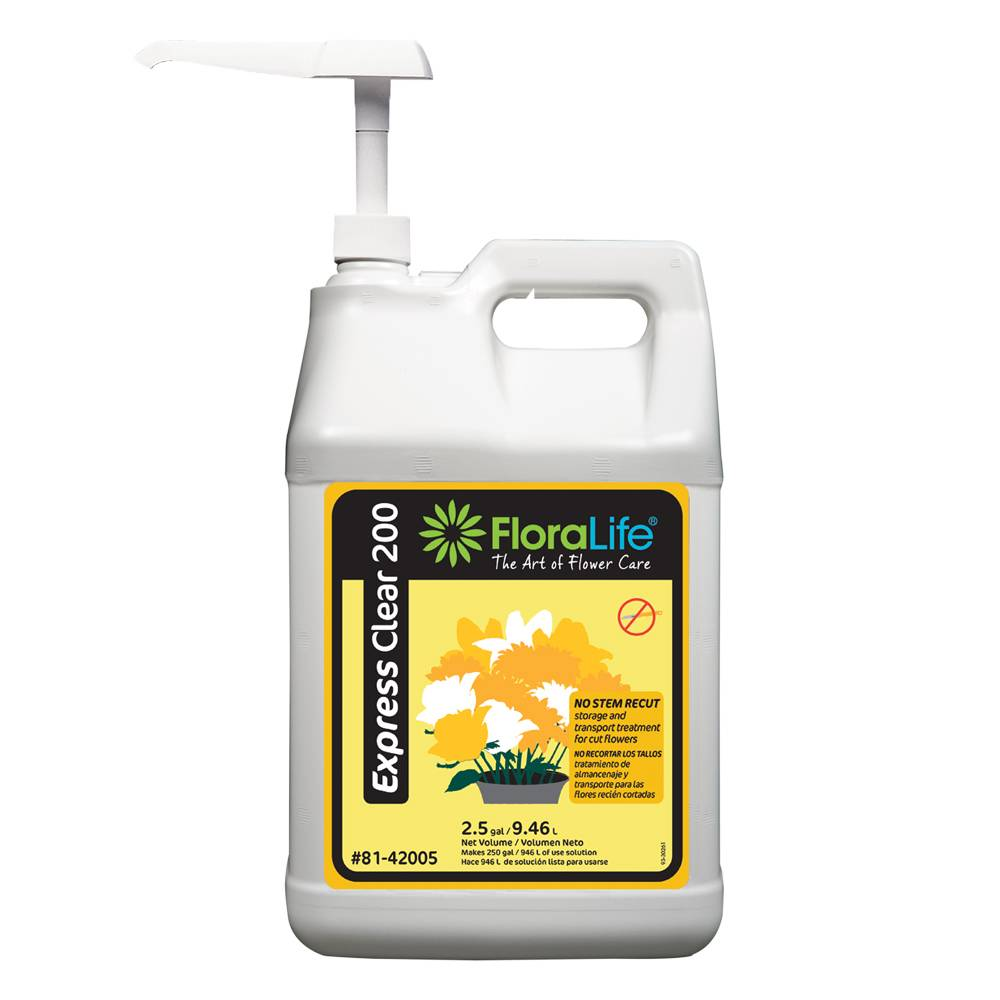 Floralife® Express Clear 200 storage and transport - NO PUMP