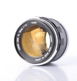 Canon Canon 55mm f/1.2 SN: 72268 *