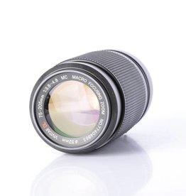 Vivitar Vivitar 75-205mm f/3.8-4.8 SN:77404863 *
