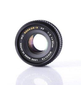 Minolta Minolta 50mm f/2 Prime Lens for 35mm Film Cameras *