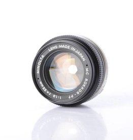 Minolta 55mm F/1.9 Prime Lens *