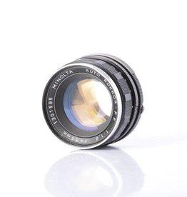 Minolta Minolta 55mm f/1.8 sn: 2567360 *
