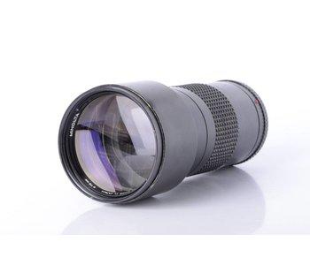 Minolta 300mm f/4.5 Telephoto Lens *