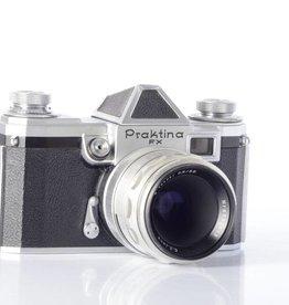 Praktina Praktina FX 35mm Film Camera w/Tessar 50mm f/2.8 Lens *