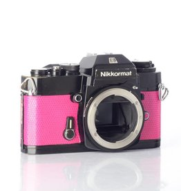 Nikon Nikon Nikkormat EL 35mm SLR Film Camera (Dragon Fruit) *