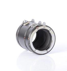 Vivitar Nikon Mount F extension ring set *