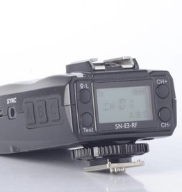 Shanny SN-E3-RF 2.4GHz wireless master flash control transceiver 2-pack; E-TTL/i-TTL for Canon