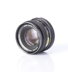 Konica Hexanon AR  50mm f/1.7 lens *
