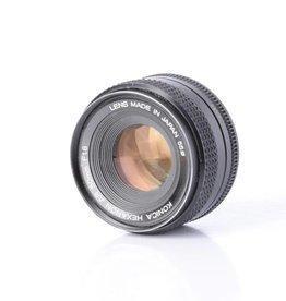 Konica 50mm f/1.8 manual lens *
