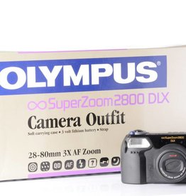 Olympus Olympus SuperZoom 2800 DLX Point and Shoot Camera *