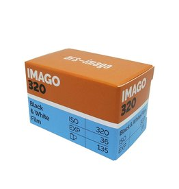 Imago Imago 320 ISO 35mm x 36 Exposure B&W Film *