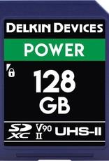 Delkin Delkin Devices Power 128GB UHS-2 Class 10 U3 V90 SDXC 2000x Memory Card