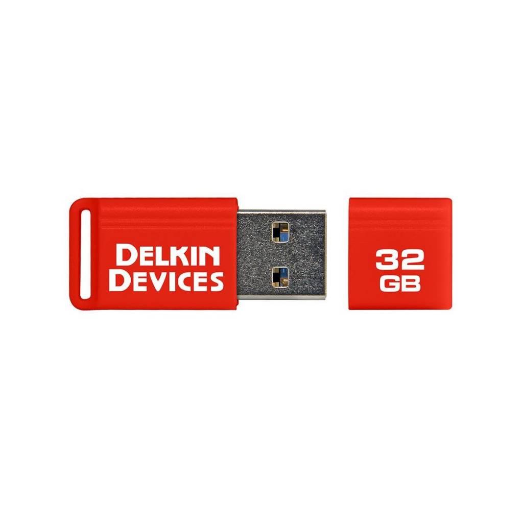 Delkin Delkin Devices 32GB PocketFlash USB 3.0 Flash Drive