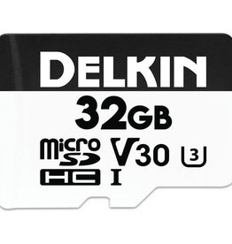 Delkin Delkin Devices 32GB Advantage UHS-I microSDHC Memory Card