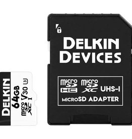 Delkin Delkin Devices 64GB Advantage UHS-I microSDHC Memory Card