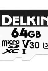 Delkin Delkin Devices 64GB Advantage UHS-I microSDHC Memory Card