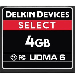 Delkin Delkin Devices 4GB Select UDMA 6 CompactFlash Memory Card