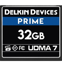 Delkin Delkin Devices 32GB Prime UDMA 7 CompactFlash Memory Card