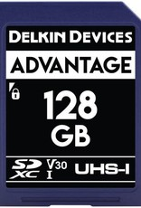 Delkin Delkin Devices Advantage 128GB UHS-I Class 10 U3 V30 SDXC 633x Memory Card