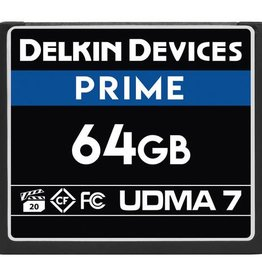 Delkin Delkin Devices 64GB Prime UDMA 7 CompactFlash Memory Card *