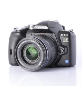 Olympus Olympus E-510 DSLR Camera w/ 14-42mm Wide Angle Lens *