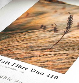 "Hahnemuhle Hahnemuhle Photo Matt Fiber Duo 210 8x10"" 25 Sheet"